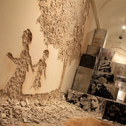 The latest artworks from Alexandre Farto aka Vhils and ±MaisMenos, two Portuguese artists for the Museum of Contemporary Arts of Elvas.