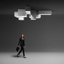 'Link' modular lighting system by Ramon Esteve.