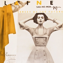 A vintage Spring issue of American Fabrics magazine is a great source of inspiration for vintage fashion styles and editorial design of the early 1950s...