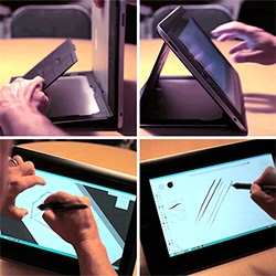 Wacom demos the new Cintiq Companion and Companion Hybrid at Core77