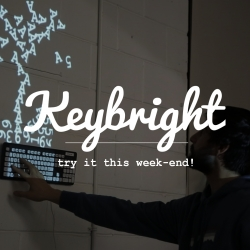 Keybright is an opensource tool to help anyone make a fun and beautiful light-installation at home in minutes. The vision is to build a DIY happy physical/digital experience at home.