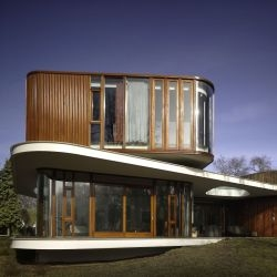 Mecanoo Architects have designed the Villa Nefkens in Wageningen, The Netherlands.