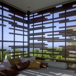 Opening in early 2009 are the Alila Villas Uluwatu in Bali, Indonesia. Designed by the Singapore based WOHA Architects.