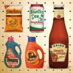 So many great vintage-inspired packaging re-designs hitting the shelves lately. Take a look!