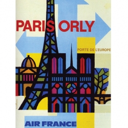 A series of vintage and current tourism posters.