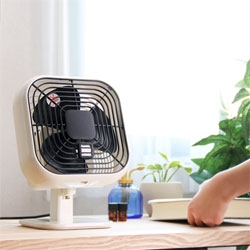 Square shaped vinto fan.