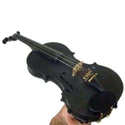 A violin made of carbon fiber!