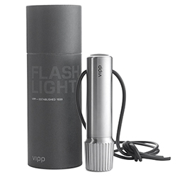 Vipp has a new flashlight! The Vipp561 LOMMELYGTE
