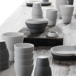 Vipp's newest series is ceramic! Everything you need for setting up a good looking breakfast table.