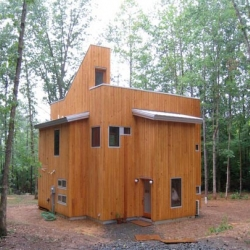 Meet the Cube house, designed and built by Tom and Yumiko Virant of Virant Design.