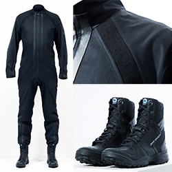 Adidas Y-3 creates spacesuits for Virgin Galactic pilots! Y-3's all-in-one navy flight suit is made from a heat-resistant synthetic material called Nomex Meta Aramid, which is woven using a 3D-engineered pattern.