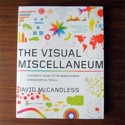 "Look inside the Visual Miscellaneum book by David McCandless that comes out today ~ beautiful infographics - ""a colorful guide to the worlds most consequential trivia"""