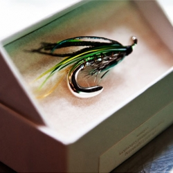 As a fan of fishing, I must say that I am rather drawn to these new Fishing Lure Brooches from Visvim!