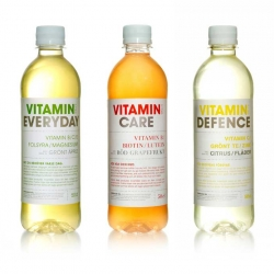 Vitamina Well is a health drink company from Sweden with nicely designed bottles and website. The bottles were designed by Waters WidgrenTBWA and the website by Tewonder.