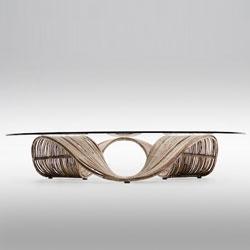 'Baud' organic bench and table by Vito Selma.