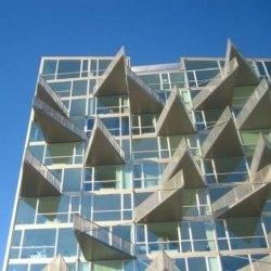 The VM Husene building in Copenhagen, Denmark.