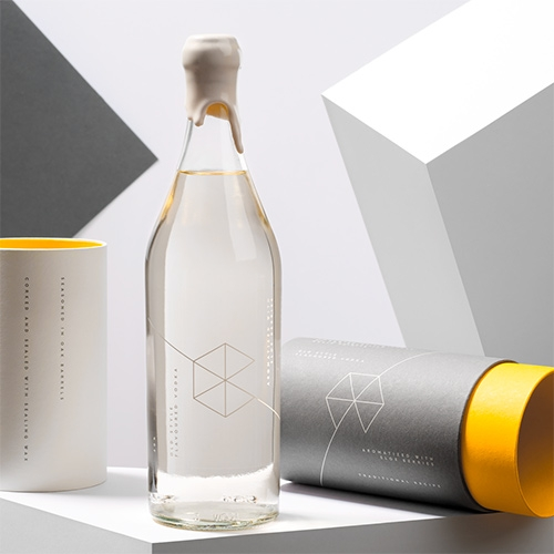 Google Campus Warsaw: Old Style Flavoured Vodka - fun packaging design by Redkroft