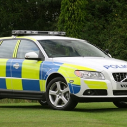 Volvo just unveiled their awesome new cop-car concept in the U.K.  Check out some of the other hottest cop cars in existence.