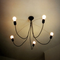 Superb  chandelier for a superb price. Size is 950mm diameter. Less in more... Heavy Guy Chandelier - Design: MVOS (NL)