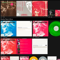 "Created by Flavio Sant Anna, ""Vulgar Picture"" is a website that displays the discography of The Smiths & Morrissey in an innovative way: All images are high-quality, so people around the world can see what the rare editions of their albums look like."