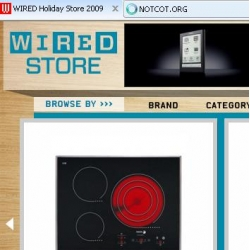 WIRED.com and WIRED Magazine have lauched their Holiday Store and guess what: its AWESOME