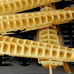Triangular Concept's Waffsicles - Waffles on a stick are born- so simple, yet so obviously needed in every single household...