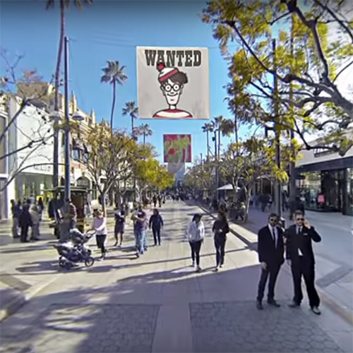 "Corridor Digital's ""Where's Waldo 360"" - one of the best uses of YouTube 360 video yet! Featuring the  Santa Monica Pier and 3rd St Promenade in 4k! Also great making of to get a peek into their process and thinking."
