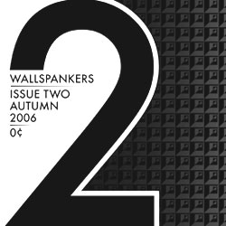Wallspankers Issue 2. Over 200 sticker designs by international talent. Free ready-to-print PDF download. We love stickers. Join us. Now accepting Issue 3 contributions.