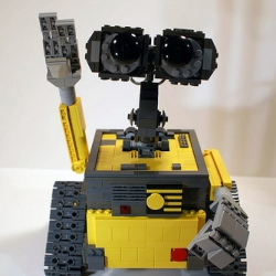 jmenomeno's photostream contains a lovely lego Wall-E  he built that is jointed and motorized.