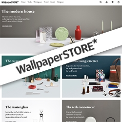 Wallpaper* has launched a STORE! Freshly opening online today.