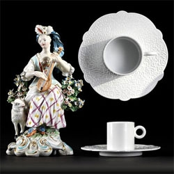 Marcel Wanders for Alessi ~ Dressed is a stunning new tableware collection ~ awesome photographs as well!