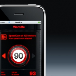 Slick speedcam detection app by NeuroModule called WarnMe. Not available for the US.