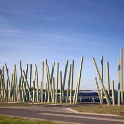 'Waving Grass' by the dutch architect Staal Christensen