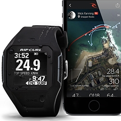 RipCurl Search GPS Watch ~ i'm intrigued by the mapping visualization of each wave you catch...