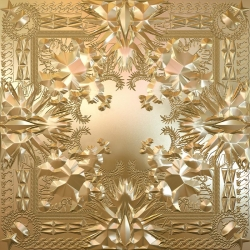 Riccardo Tisci designed the artwork for Jay-Z and Kanye West's collaborative album 'Watch The Throne'. The deluxe packaging printed on gold mylar with Tisci's patterns, includes an 18 panel poster.