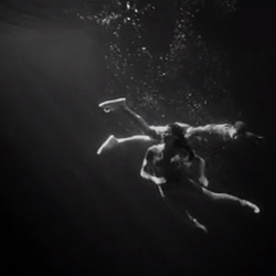 Ethereal underwater music video for the Rural Alberta Advantage's 'Muscle Relaxants' directed by José Lourenço.