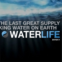 Beautifully designed website for the Canadian documentary Waterlife. If you think you know water, think again...