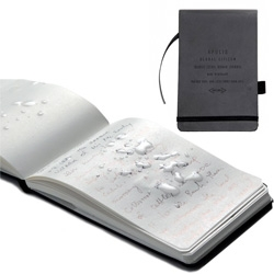 Apolis Global Citizen Transit Issue Nomad Journal - Waterproof pages in a notebook so sleek and subtle!