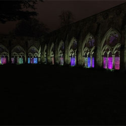 Bruce Munro returns to Salisbury Cathedral with Water -Towers. The new installation can be seen until February 27th.
