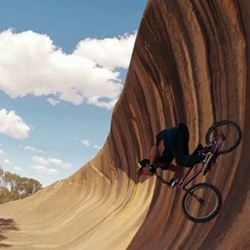 Stunning video of BMX rider Danny Campbell on Wave Rock – a giant natural half-pipe in the vast Australian Outback - from InfinityList and mb! by Mercedes-Benz Magazine