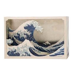 tatebanko: the forgotten Edo-era Japanese art of creating perspectives from paper.  origami meets diorama?