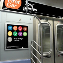 Navigating the NYC subways system can be a nightmare. Here are some alternatives to improve signage in the subway from the Original Champions of Design (OCD).