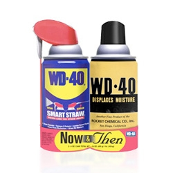 WD-40 goes retro with a limited edition 50's packaged can!