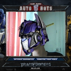 Augmented Reality with Transformers. WE (you) ARE AUTOBOTS !!