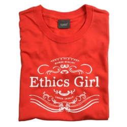 Ethics Girl : Higher Quality, Lower Impact. Great new tee from the environmentally conscious, Howies*.