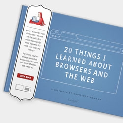 20 Things i Learned About Browsers and the Web, an adorable eBook illustrated by Christoph Neimann