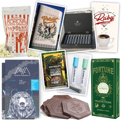 The NOTCOT growing list of eye catching Cannabis Packaging and Branding has nearly doubled since first published... it's a visually fascinating space to dive into.