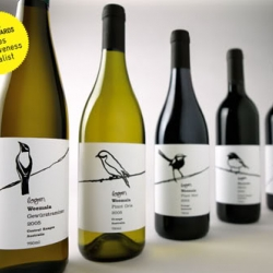 War Design has created the Weemala wine which features a series of labels with hand illustrated native birds.