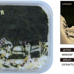 Album Art... in food!