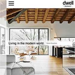 Dwell Homes - Dwell Magazine partners with LA real estate firm, Live International, to present Dwell worthy modern homes for sale.
